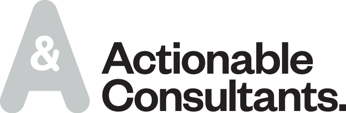 Actionable Consultants Brand Logo