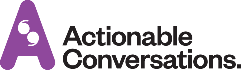 Actionable Conversations Brand Logo