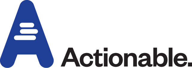 Actionable Brand Logo