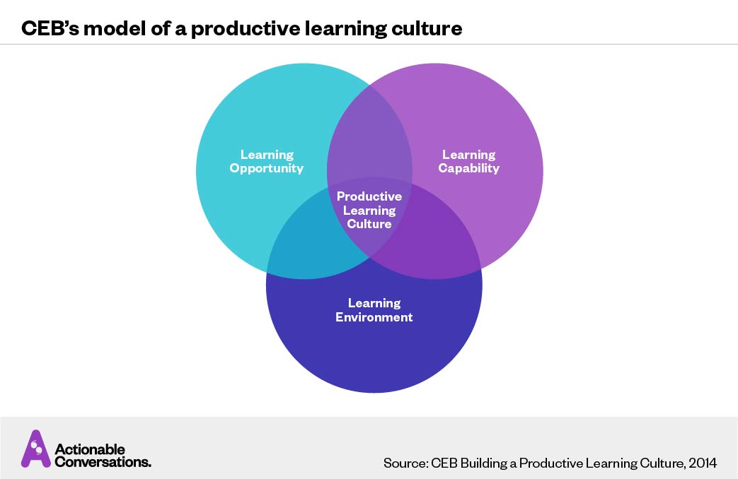 Learning Culture — CEB Model of Productive Learning Culture