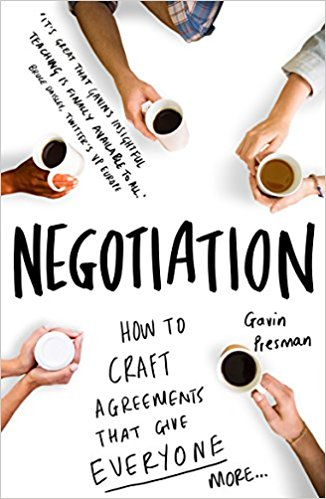 Book Cover: Negotiation